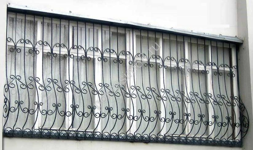 Изготовление балконных ограждений и решеток на лоджии и балк.