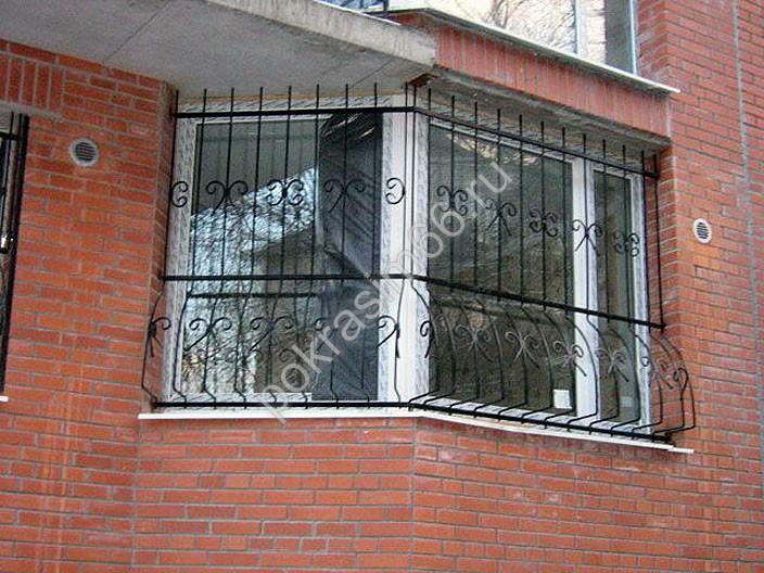 Фото решетки на лоджию, балкон.